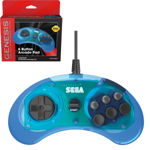 Retro-Bit SEGA MD Mini 6-B USB kontroler (moder)