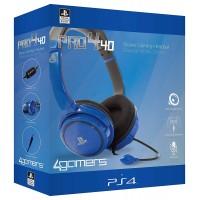 4GAMERS PRO4-40 PS4 STEREO GAMING SLUŠALKE BLUE