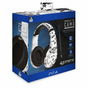4GAMERS PS4 STEREO GAMING HEADSET CAMO EDITION - ARCTIC