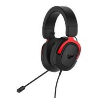 Slušalke ASUS TUF Gaming H3, rdeče (90YH02AR-B1UA00)