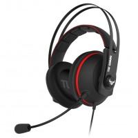 Slušalke ASUS TUF Gaming H7 Core, rdeče (90YH01QR-B1UA00)
