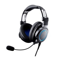 Slušalke Audio-Technica ATH-G1 Gaming, črne (ATH-G1)