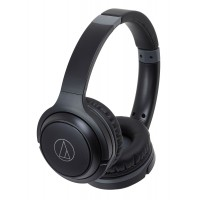 Slušalke Audio-Technica ATH-S200BT Wireless, črne (ATH-S200BTBK)