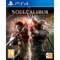 Soul Calibur VI Limited Silver Collector's Edition (PS4)