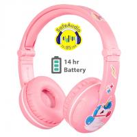 Slušalke BUDDYPHONES Play, bluetooth, roza
