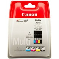 Canon CLI-551 C/M/Y/BK (BS6509B009AA)