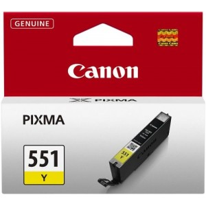 Canon CLI-551 Y (BS6511B001AA)