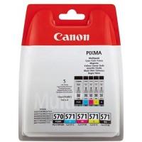 Canon PGI-570 PGBK/CLI-571 C,M,Y,K komplet kartuš (BS0372C004AA)