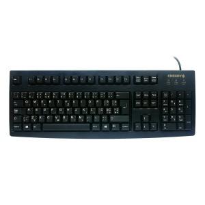 Tipkovnica Cherry G83-6105, črna, USB, UK SLO g. (G83-6105LUNGB-2)