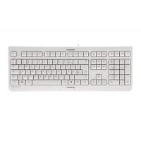 Tipkovnica Cherry KC 1000, bela, USB, UK SLO g. (JK-0800GB-0)