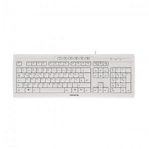Tipkovnica Cherry Stream 3.0 (bela) (G85-23200GB-0)