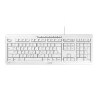 Tipkovnica Cherry STREAM, bela, USB, SLO (JK-8500SL-0)