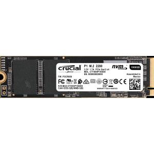 SSD 1TB M.2 80mm PCI-e 3.0 x4 NVMe, 3D QLC, CRUCIAL P1 (CT1000P1SSD8)