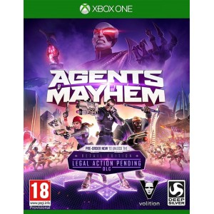 Agents of Mayhem (Xbox one)