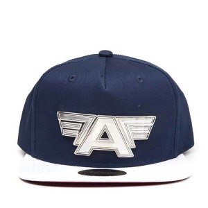 DIFUZED CAPTAIN AMERICA CIVIL WAR - METAL PLATE LOGO SNAPBACK