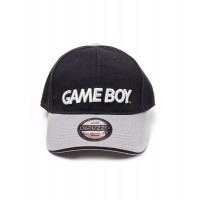 DIFUZED NINTENDO - BLACK/GREY GAMEBOY LOGO CURVED BILL
