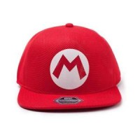DIFUZED NINTENDO - SUPER MARIO BADGE SEAMLESS CAP