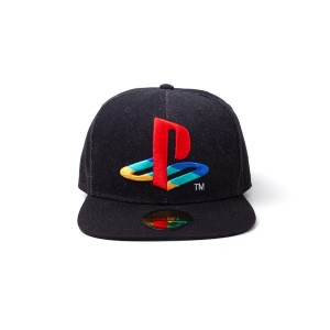 DIFUZED PLAYSTATION - LOGO DENIM SNAPBACK CAP