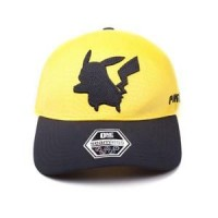 DIFUZED POKEMON - PIKACHU SEAMLESS CURVED BILL CAP