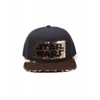 DIFUZED STAR WARS - LOGO SEQUINS SNAPBACK