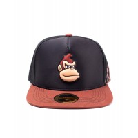 DIFUZED SUPER MARIO - DONKEY KONG EVA MOLDED SCREEN PRINT SNAPBACK CAP