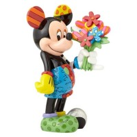 FIGURA MICKEY MOUSE WITH FLOWERS
