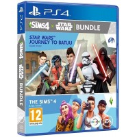 The Sims 4 Star Wars: Journey To Batuu - Base Game and Game Pack Bundle (PS4)