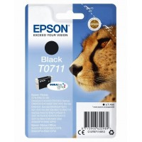 EPSON Singlepack Black T0711 Ultra Ink (EPS-C13T07114012)