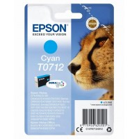 EPSON Singlepack Cyan T0712 Ultra Ink (EPS-C13T07124012)