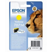 EPSON Singlepack Yellow T0714 Ultra Ink (EPS-C13T07144012)