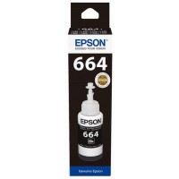 EPSON T6641 Black ink bottle 70ml (EPS-C13T66414A)