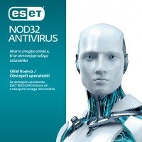 ESET NOD32 Antivirus OEM 1 leto 1 računalnik