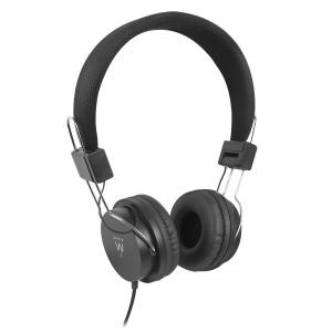 Slušalke Ewent Foldable On-ear, črne (EW3573)