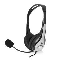 Slušalke Ewent, nadzor glasnosti, mikrofon (EW3562)