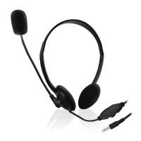Slušalke Ewent, za telefone/tablice, nadzor glasnosti, mikrofon, EW3567 (EW3567)