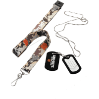 TRAK IN DOG TAG SET CALL OF DUTY BLACK OPS 4