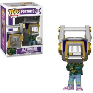 FUNKO POP GAMES: FORTNITE S3 - DJ YONDER