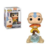 FUNKO POP ANIMATION: AVATAR- AANG ON AIR BUBBLE W/ GLOW CHASE