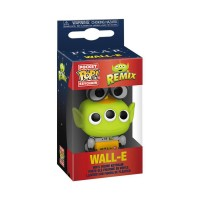 FUNKO POP KEYCHAIN: PIXAR ALIEN REMIX - WALL-E