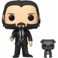 Figura FUNKO POP & BUDDY: JOHN WICK- JOHN (BLACK SUIT) W/DOG