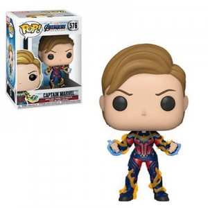 Figura FUNKO POP MARVEL: ENDGAME -CAPTAIN MARVEL W/ NEW HAIR