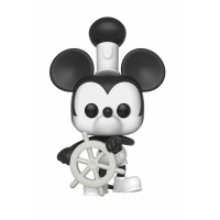 Figura FUNKO POP! VINYL: DISNEY: MICKEY'S 90TH ANNIVERSARY: STEAMBOAT WILLIE