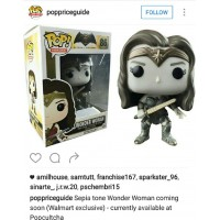 FUNKO POP! BVS - WONDER WOMAN SEPIA