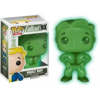 FUNKO POP! FALLOUT - VAULT BOY GREEN SCREEN GW