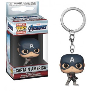 FUNKO POP KEYCHAINS: MARVEL - ENDGAME - CAPTAIN AMERICA