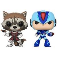 POP! Figura 2-PACK: CAPCOM VS. MARVEL: ROCKET VS MEGAMAN X