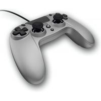 GIOTECK VX4 PREMIUM žični kontroler za PS4/PC – srebrne barve