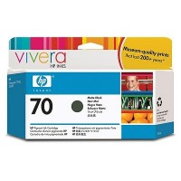 HP 70 130 ml Matte Black Ink Cartridge (C9448A)