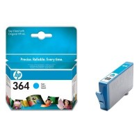 HP 364 Cyan Ink Cartridge with Vivera Ink (CB318EE)