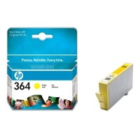 HP 364 Yellow Ink Cartridge with Vivera Ink (CB320EE)